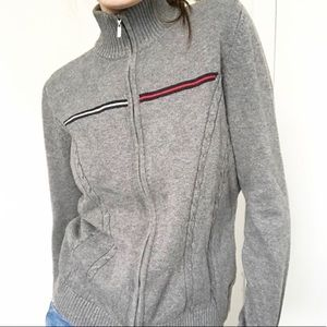 Cute Tommy Hilfiger zip up sweater